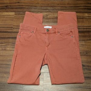 Ann Taylor Loft Rust Jeans size 4